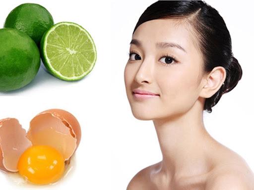 Phương pháp dưỡng da với trứng và chanh dành cho các loại da khác nhau