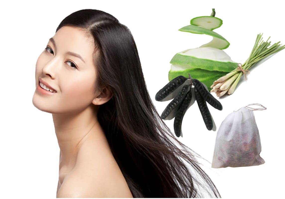 Chăm sóc tóc hiệu quả bằng các sản phẩm từ thiên nhiên