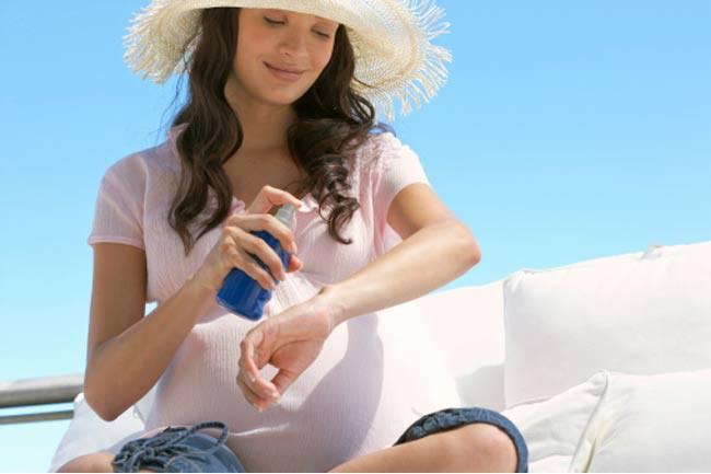 Kem chống nắng mỹ phẩm cho phụ nữ mang thai cần chú ý