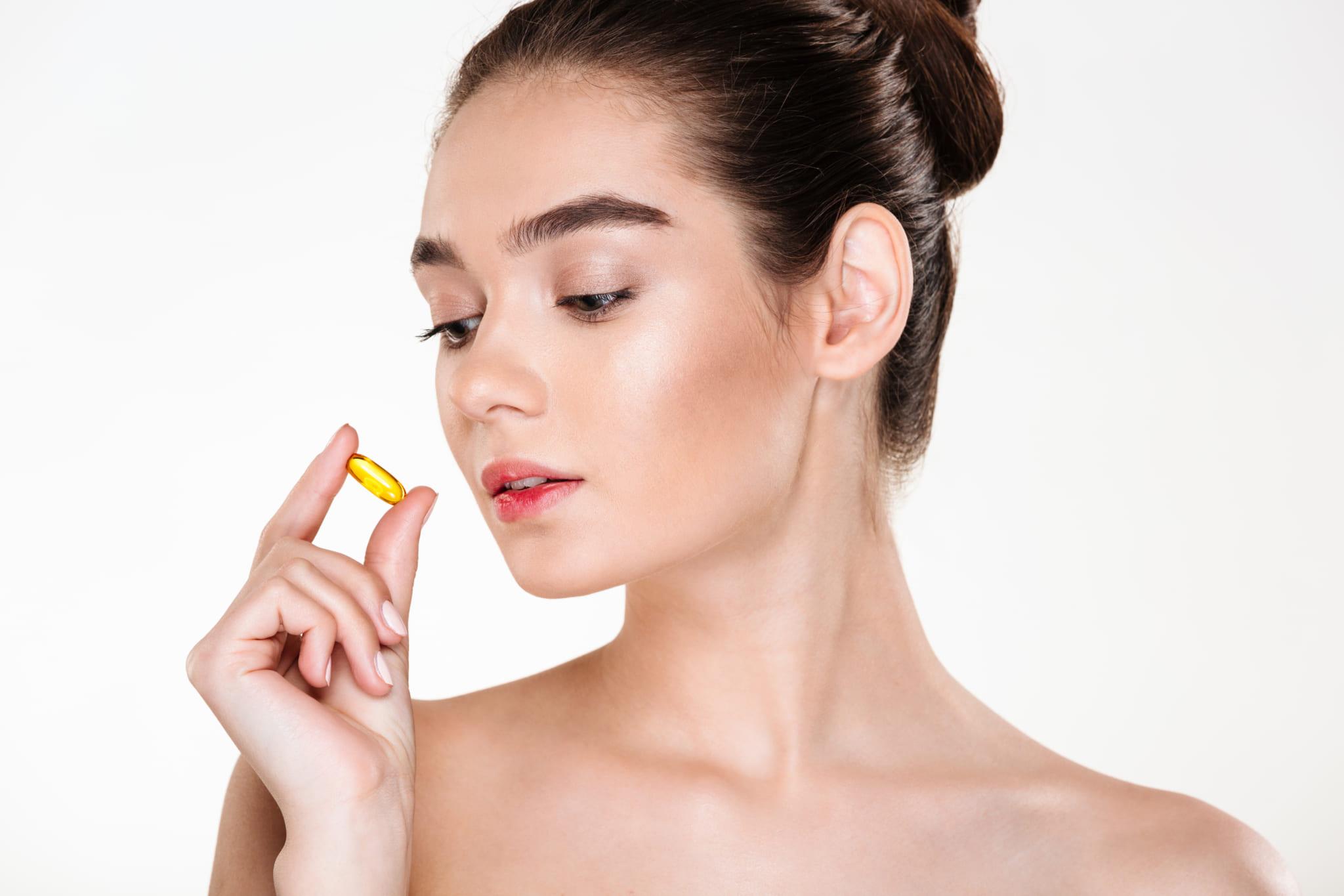 Bổ sung vitamin A cho da thông qua các sản phẩm viên uống cần đọc kỹ hướng dẫn sử dụng